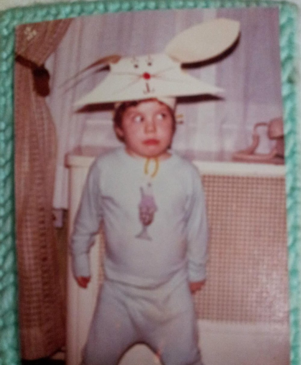 Always A Discerning Eye - When Dave was a kid he had a root beer floating eye. Luckily the doctors at the children's asylum fitted him with a prescription rabbit hat and he went on to live a productive life.