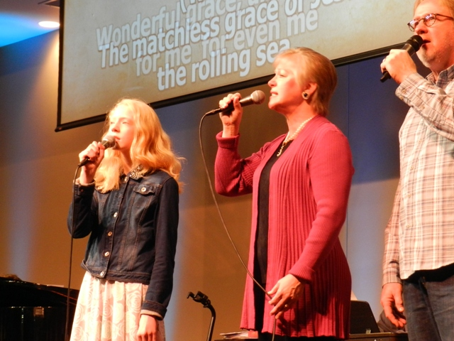 Our Worship Team is made up of a diverse group of musicians in our church family willing to serve by using their talents.  It is a combination of contemporary worship along with traditional hymns that appeal to all ages in our congregation.