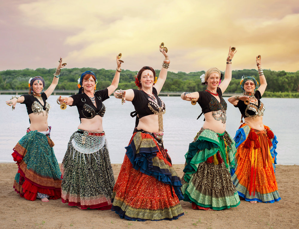 Des Moines ATS® Belly Dance Performance Troupe - Seize The Sway