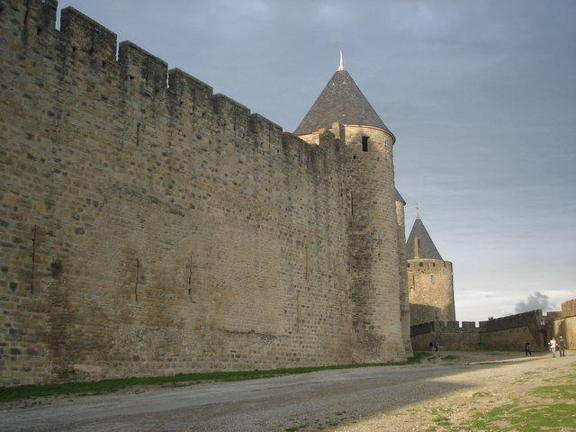 Carcassone, Medieval Ville