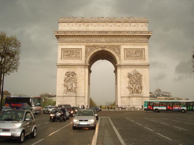 Arc d' Triomphe, Paris