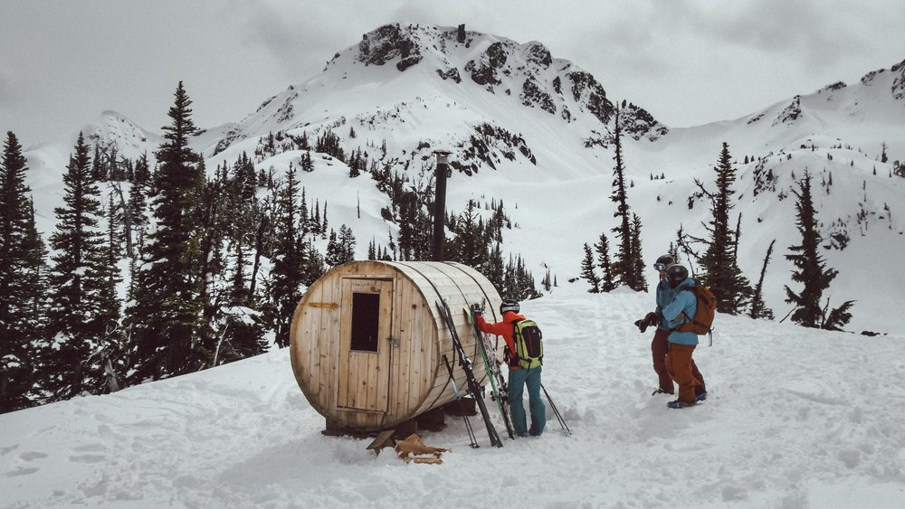 THE BACKCOUNTRY SAUNA -