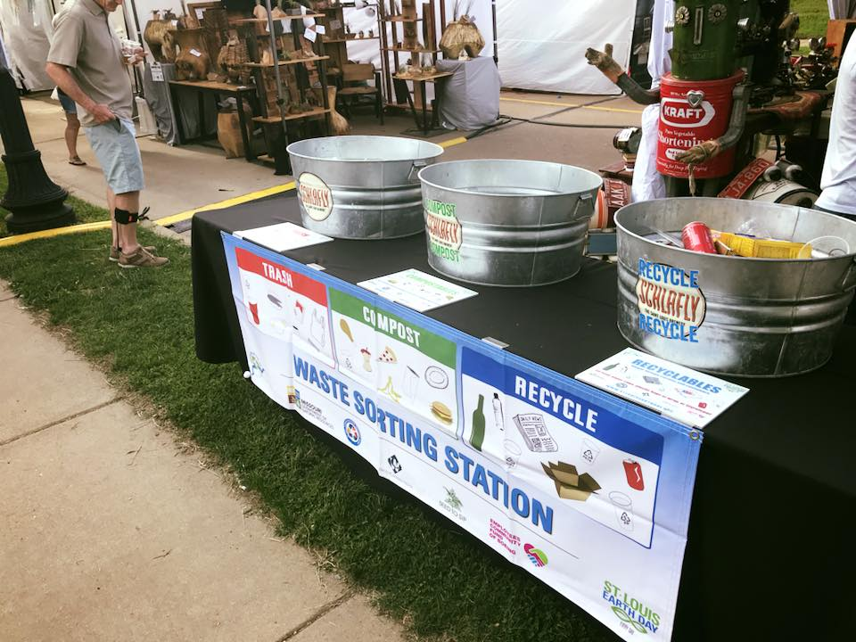 St. Louis Earth Day's Recycling on the Go Program