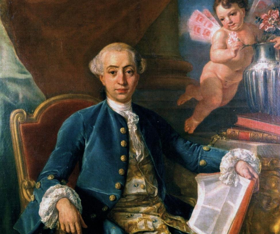 Supuesto retrato de Casanova atribuido a Francesco Narici.