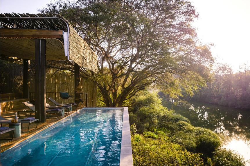 Singita Sweni Lodge , Sudáfrica.
