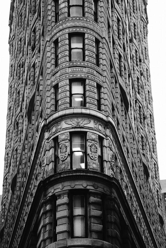 La inconfundible silueta del Flatiron, que saluda a Broadway a la altura de la calle 23.