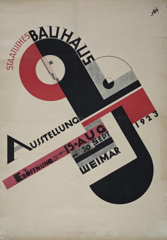 Joos Schmidt, afiche de 1923.