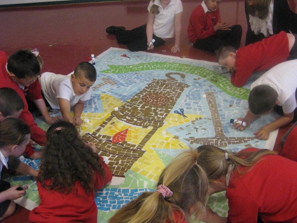 children working on collage brandling .jpg