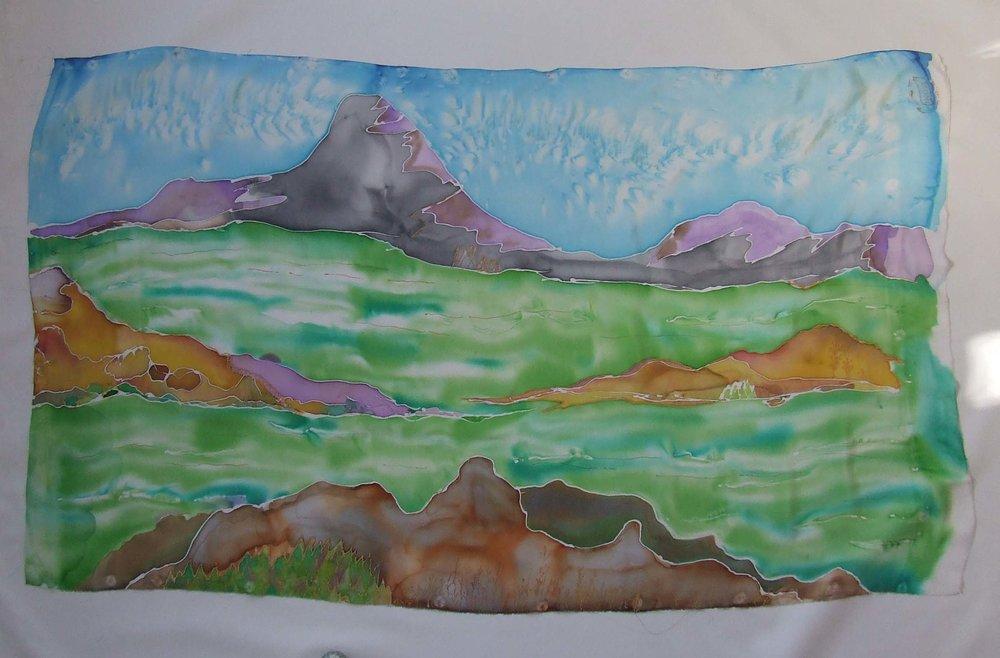 Silk Painting -