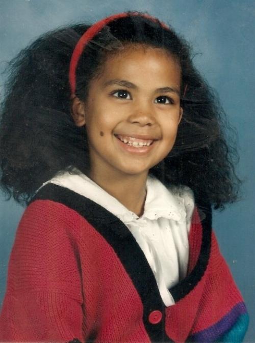 Me in 1st Grade..My Favorite teacher brushed my hair that day! Thanks Mrs. Johnston