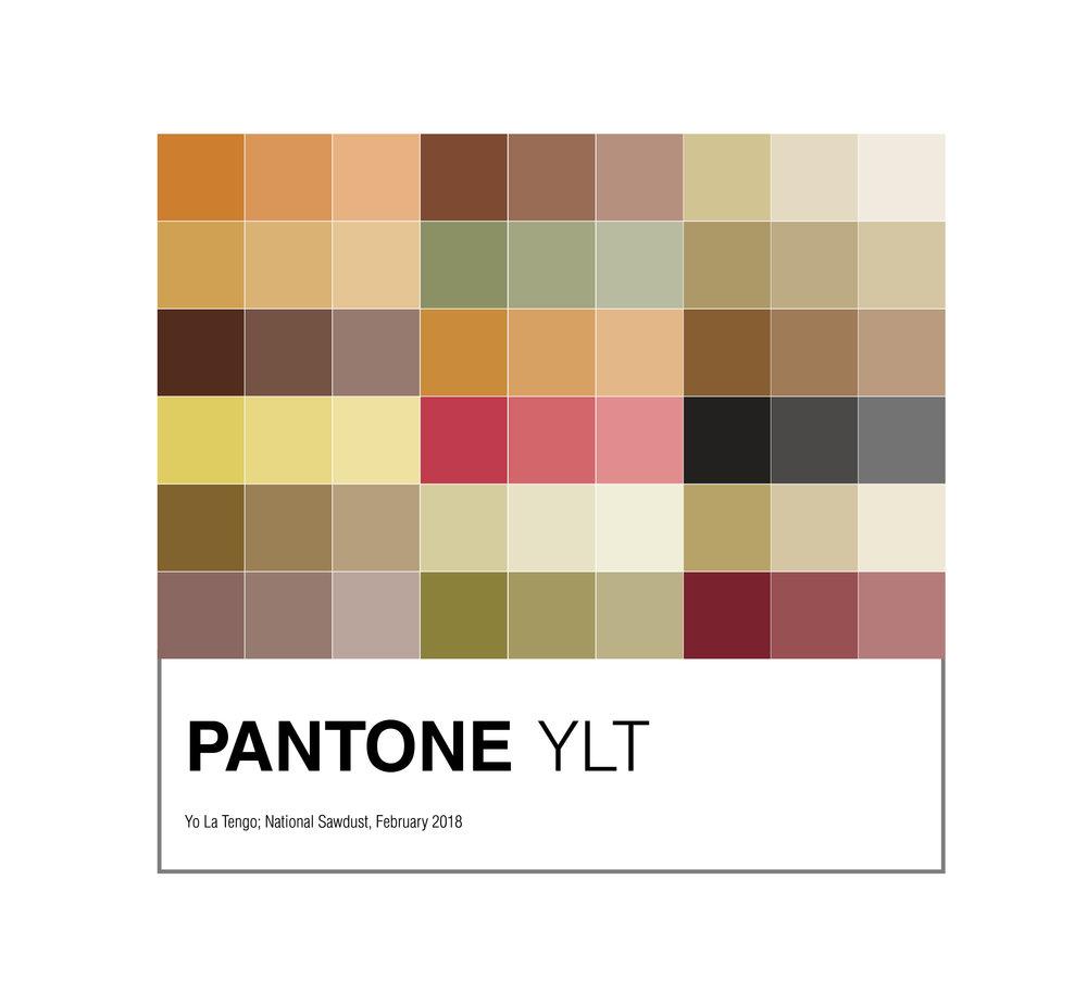 Yo La Tengo Pantone