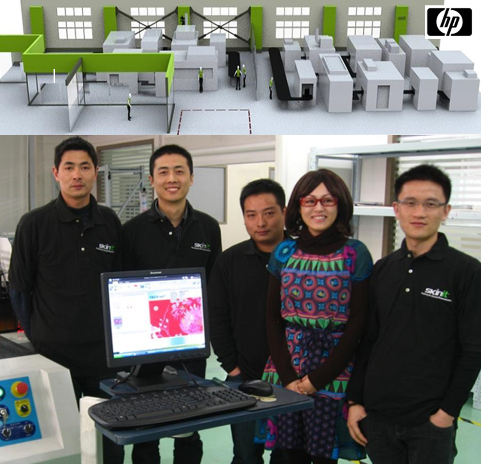 Building Operations Off Shore - Scaled operations in China to increase Skinit's supply chain efficiency for HP and OEM / ODM integration. Supported advance development of On-Demand Post-Mold Decoration Technologies.