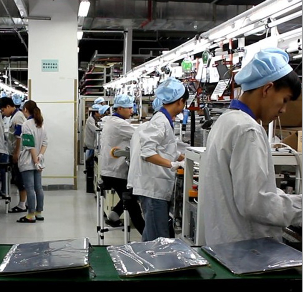 Outsourced Design & Manufacturing - Contracted off-shore manufacturing with an emphasis on high yield solutions at the following ODMs: Flextronics Beijing, Flextronics Korea, Tech Faith, BYD, Wojahn, Green Point, Nypro, Compel.