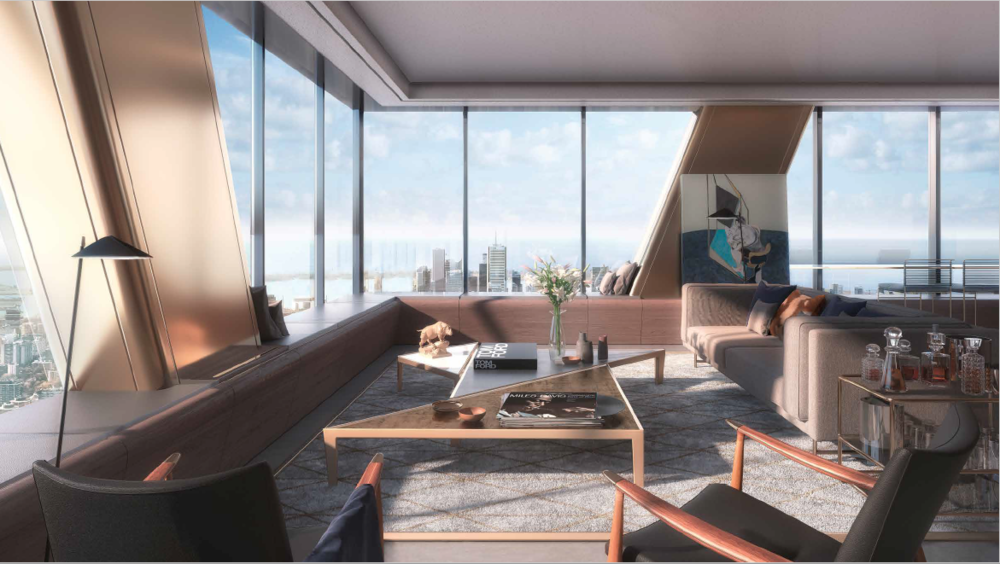 The ONE RESIDENCES, Penthouse Suite Completion 2023