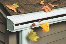 Curved Roof Gutters
