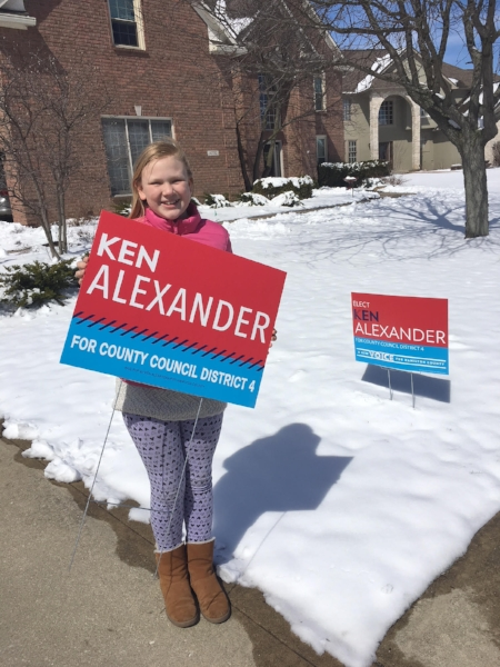 Vote for Ken on November 6th!