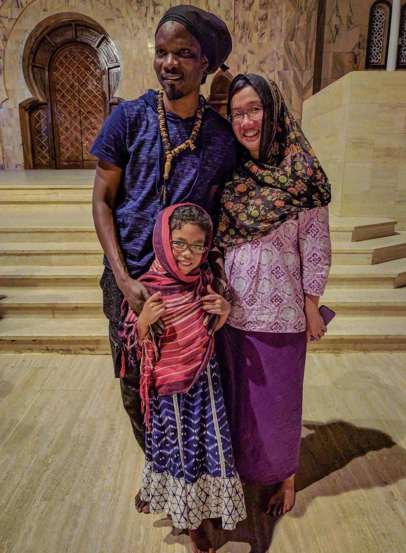 Lamine Touré &Patricia Tang - Great Mosque of Touba, Senegal
