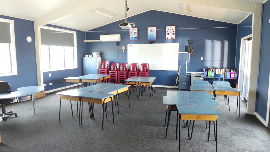 The revamped classrooms are light, spacious, modern and attractive.