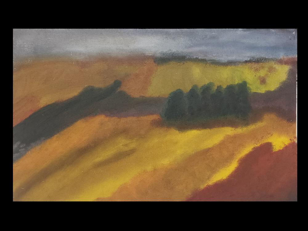 En Plein Air Study - Intermediate Painting