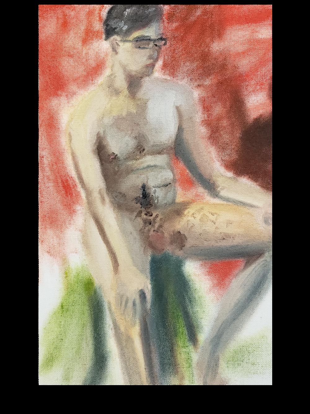 Figure Study - Intermediate Painting