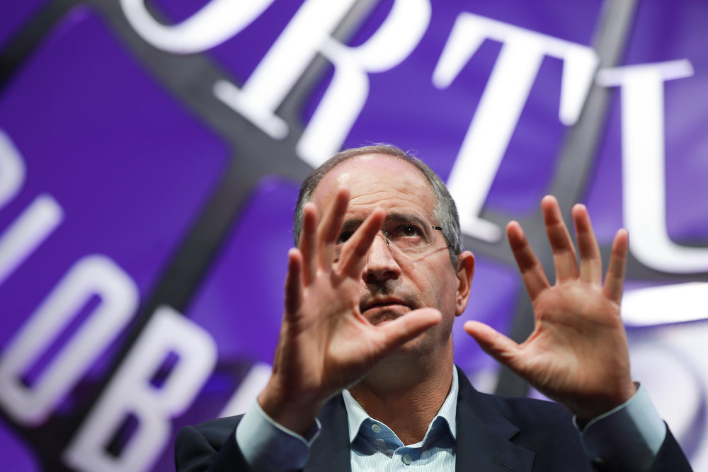 Brian Roberts, Chairman and CEO of Comcast, for Reuters