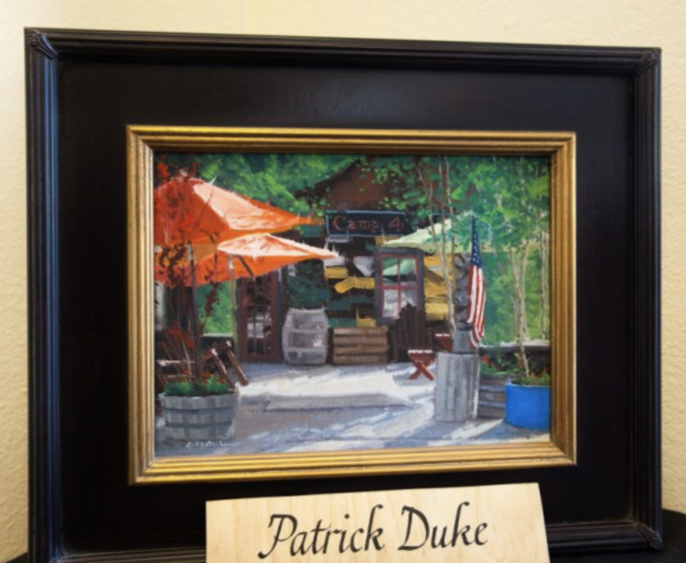 Patrick Duke - Art Education: Bachelor of fine arts degree from Western State Colorado University in Gunnison, plus workshops at Santa Reparata International School of Art in Florence, Italy, and the Sahli School of Art in Evergreen, CO.