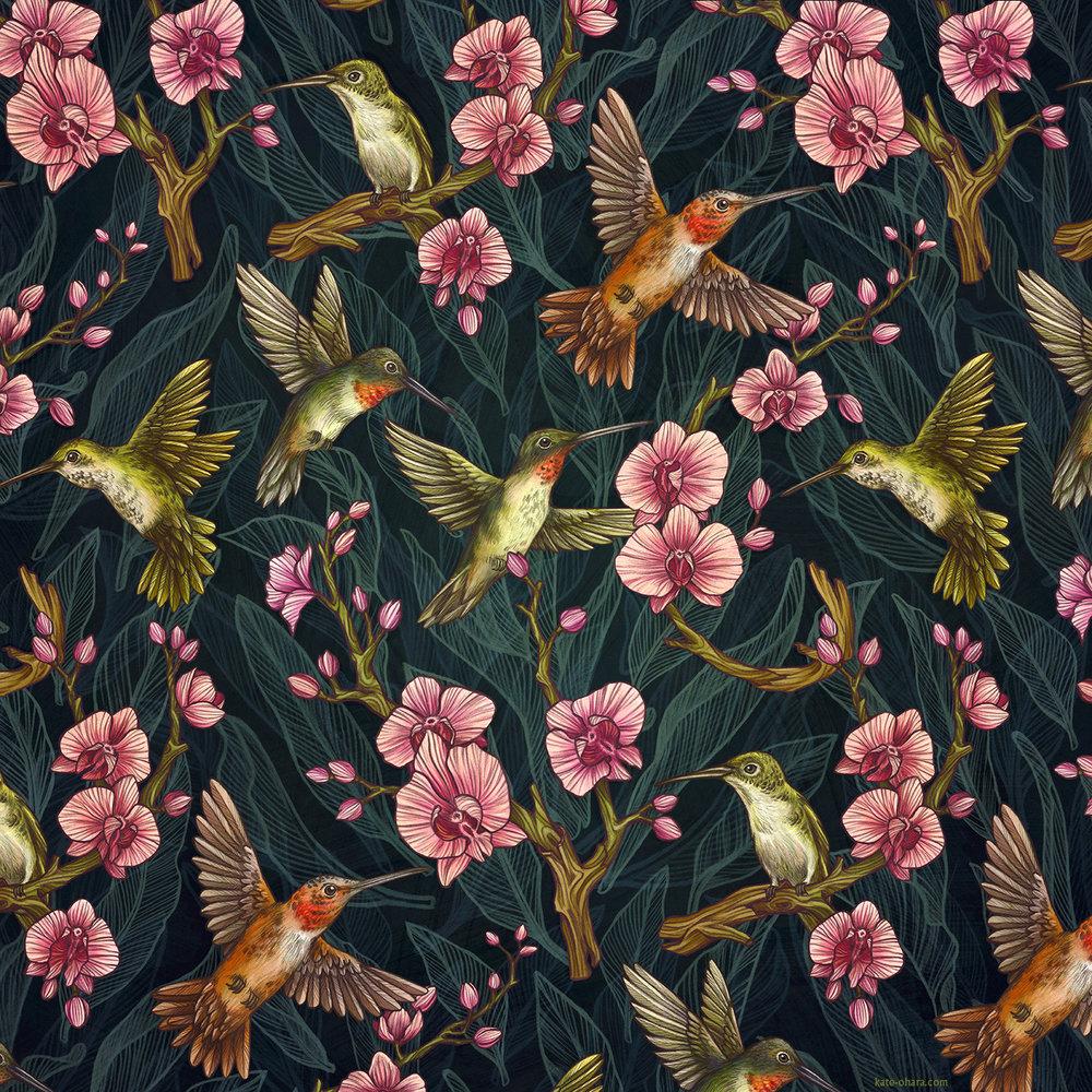 KateOHaraHummingbirdPattern.jpg