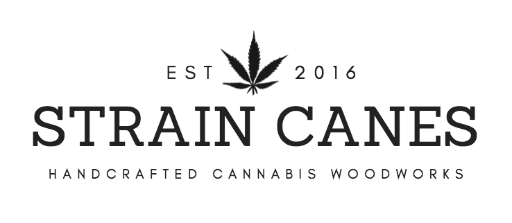 Custom walking cane for Tommy Chong — Strain Canes