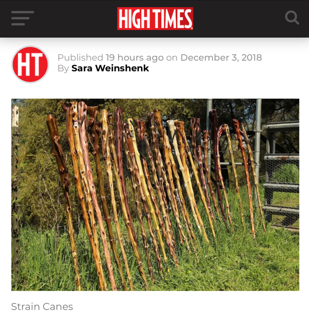 Strain Canes in HIGHTIMES