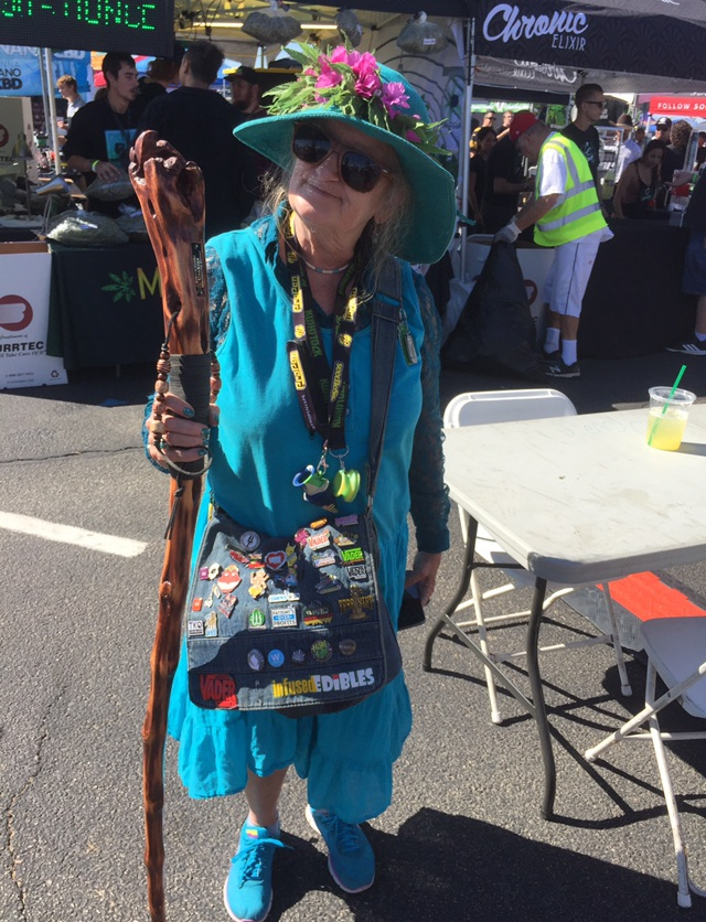 Tie Dyed Granny