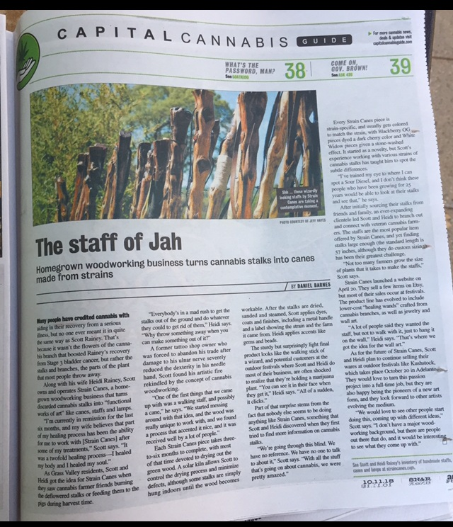 Strain Canes featured in SN&R