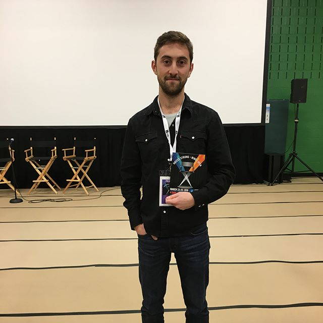 Thanks @annapolisfilmfest for an amazing time! — #hometown @benhstrang @davidbolendp @davidbolendp #filmfestival #sxsw2018