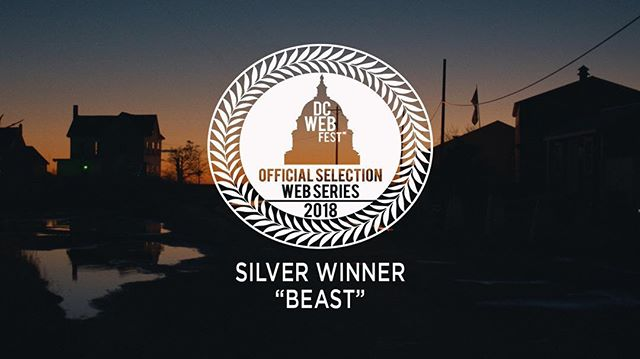 So proud to be honored as the Silver Winner at @dcwebfest ! — #filmfestival #dmv #washingtondc #independentfilm @chantalnchako @phantomg6 @hartcornstudios