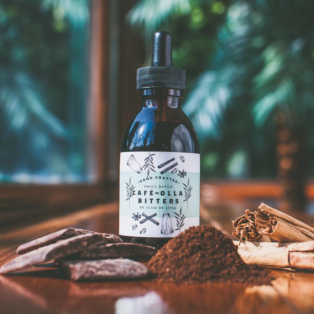 Café de Olla:Sabor a café de olla mexicano con el amargor de la base del bitter y chocolate oaxaqueño. resalta notas ahumadas y amargas -
