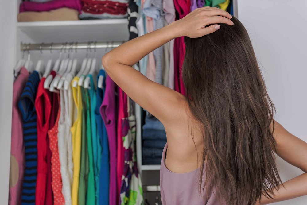 CLOSET THERAPY - A personalized edit of your closet. I personally come into your home and help you purge, arrange and organize your closet in a way that makes it easy for you to access your wardrobe to maximize your potential outfits.