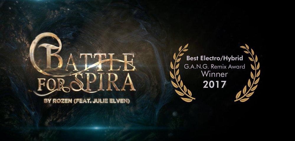 battle for spira rozen julie elven g.a.n.g. remix award
