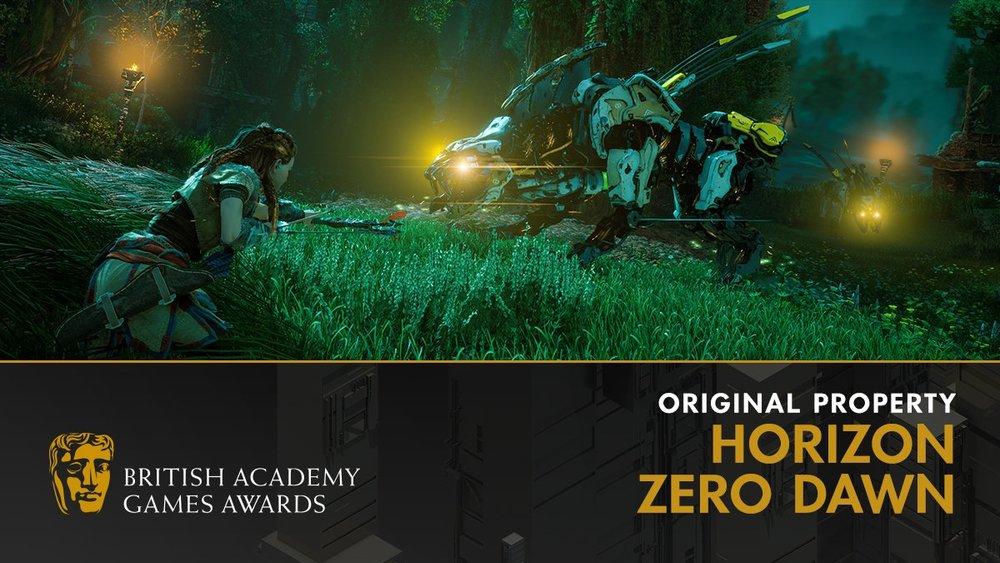 BAFTA Games 2018 Horizon Zero Dawn Guerrilla Games