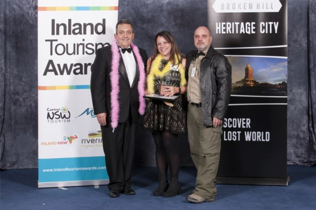 Tour and/or Transport Operators Winner - Outback Geo Adventures
