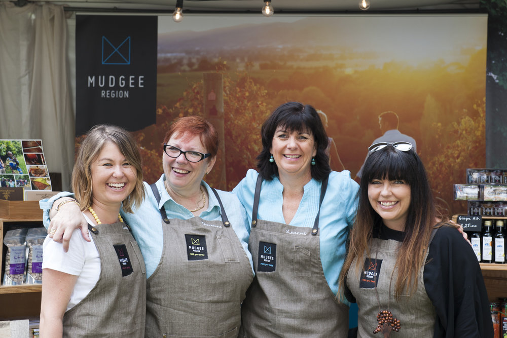 The  Mudgee Region Tourism  team
