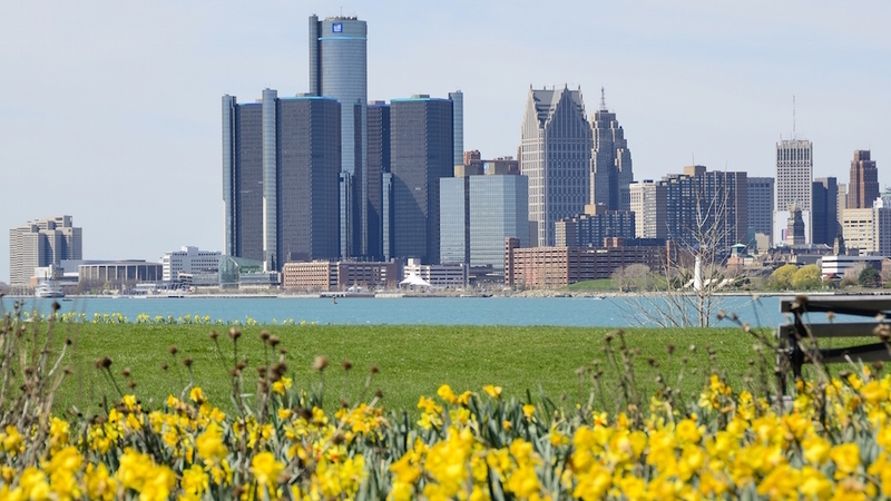 April 2017 - Spring is Beautiful along the Detroit River, and the business opportunities are blooming, too...
