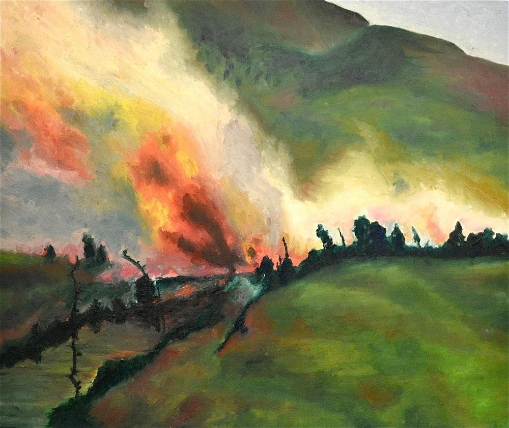 White Mountains Ablaze