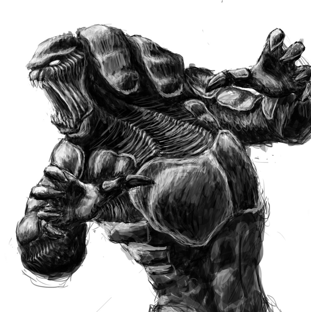 The Beast, Concept Art