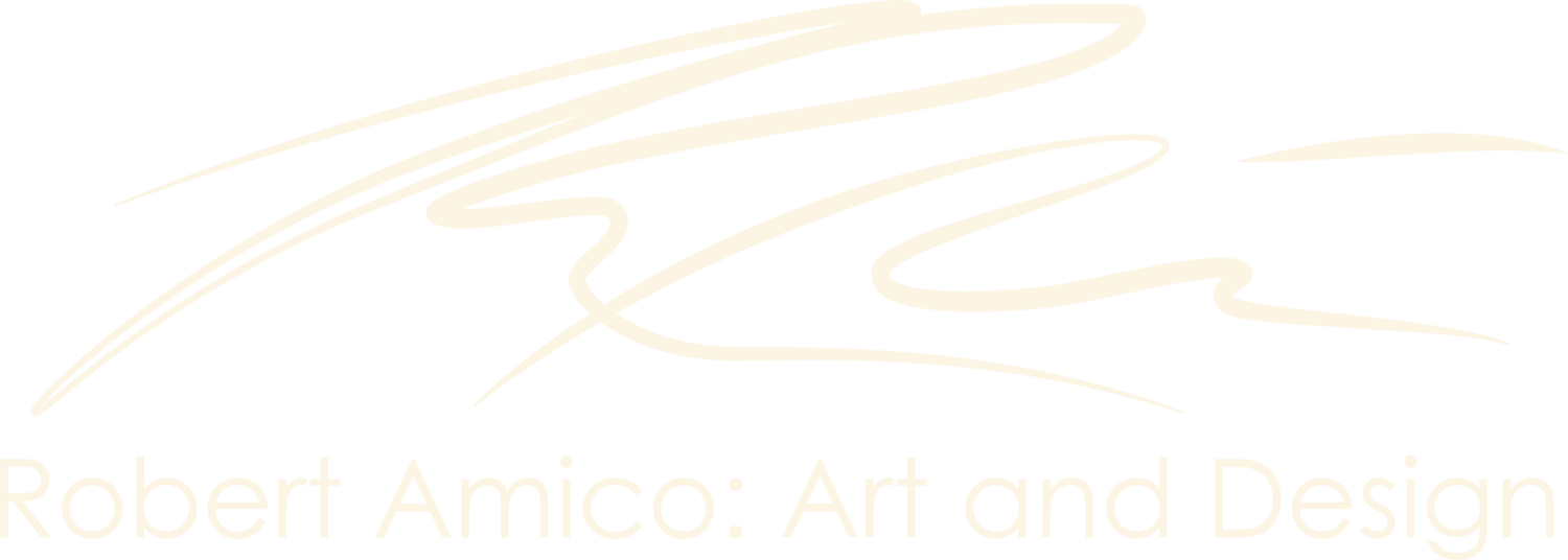 Robert Amico: Art and Design
