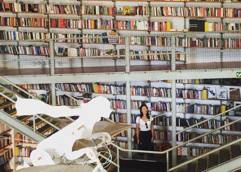 Grace in Library.JPG