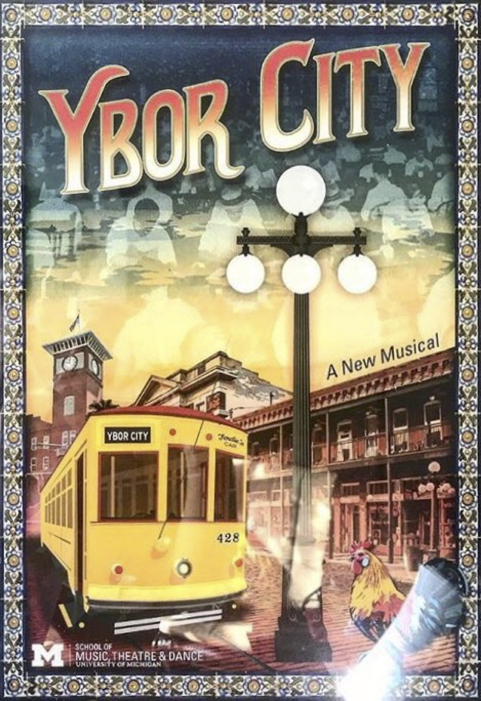 Cubanos, Puros, y Revlolución - February 2018Max will be kicking off the year with a production of a new musical based on a true story, Ybor City, following the unionization of fellow Latinx-Americans in Tampa, Florida oppressed by the class structure and racism in The Fuente Cigar Factory in the 1920s.