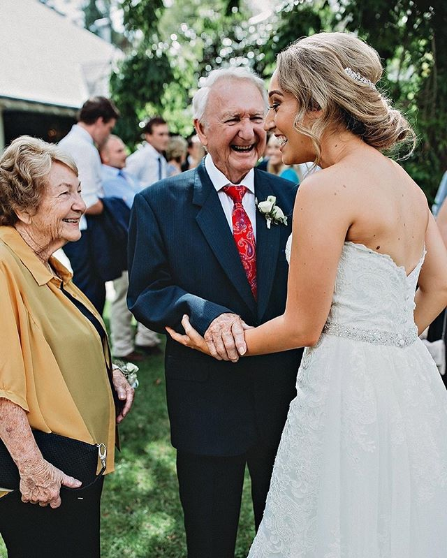 Wrapping up this beautiful wedding and I find this image of Amanda and her grandparents. I may or may not have a little cry because I think it's such a joyful moment that I was witness to... This is why I love weddings. I feel so honoured to be able to give these images to my clients, knowing how bloody special they are, especially as someone who has no living Grandparents x If you want 3 hours of portraits and a wedding day of images that you can enter into a heap of blogs, that's not what I'm about. I want this stuff. The real moments. The stuff that matters