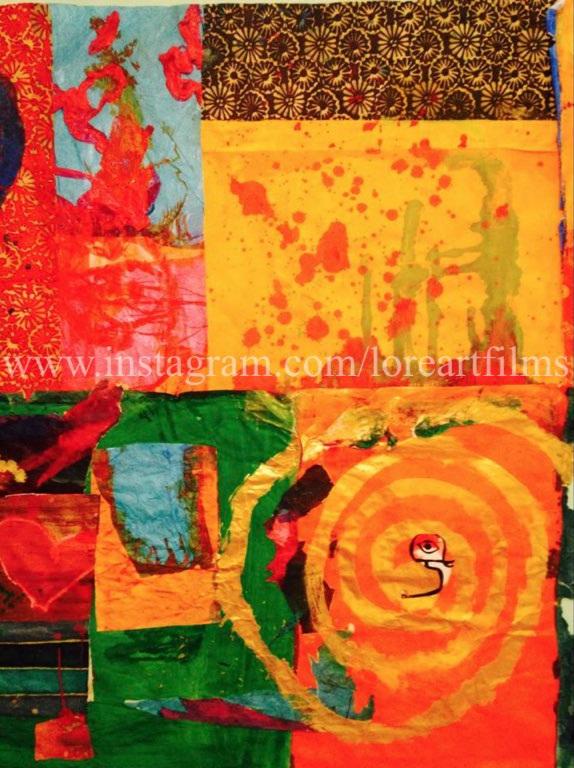 Paper Quilt 1   Mixed Media on Paper. Digital   Digital $50