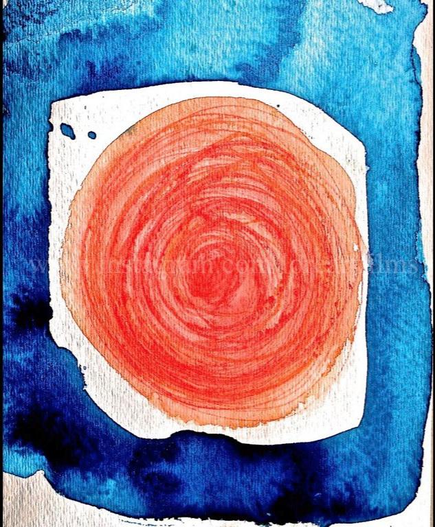 One  Watercolor on paper. Digital.  Digital $50