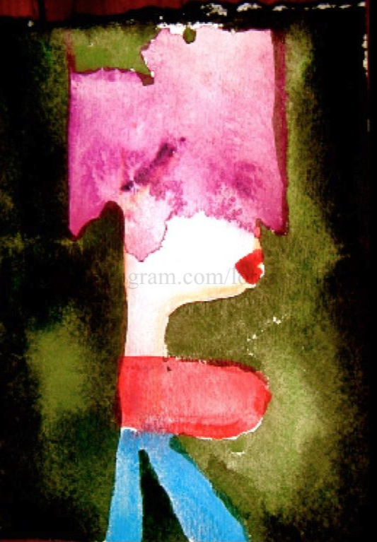 Boobs  Watercolor on paper. Digital.  Digital $50