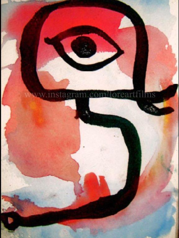 Third Eye Bird  Watercolor on paper. Digital.  Digital $50